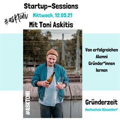 Startup-Session mit Toni Askitis (@asktoni)