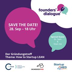 Tausche dich ganz entspannt aus und vernetze dich beim Founders' Dialogue, dem neuen Gründungstreff in Düsseldorf.