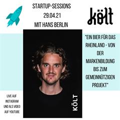 Startup-Session mit Hans Berlin (Költ)